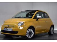 FIAT 500C 0.9 C COLOUR THERAPY 3d 85 BHP (yellow) 2014