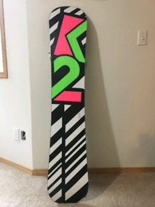 Ladies twin spin FLING k2 snow bored