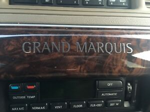 2004 Grand Marquis Ultimate Edition.