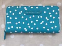 New Designer Dabney Lee purse blue spotty