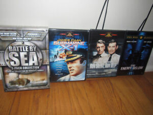 Battle By Sea 3-Pack Collection DVD Box Set