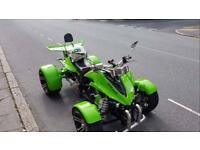 ✅ SWAP OFFERS DELIVERY ❇️ SPY RAPTOR 250cc VIPER ON ROAD BIKE QUAD ALARM ALLOYS