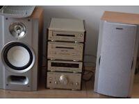 TECHNICS CD RADIO CASSETTE AUX IN 90W PLAY IPOD PHONE MUSIC
