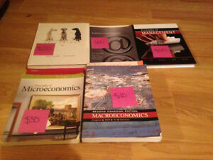 Year 1 Business Textbooks (Lakehead)