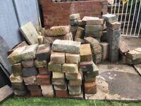100+ used bricks