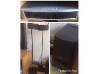 Bose 321 DVD Cinema Speaker System 3-2-1 all in working order
