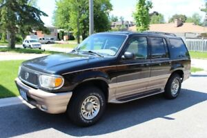 2000 Mercury Mountaineer SUV, Crossover