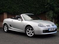 2004 MG TF 135 SILVER, BLACK LEATHER,