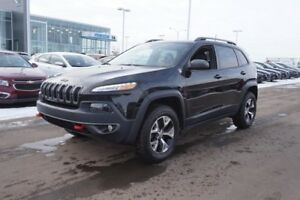 2016 Jeep Cherokee 4X4 TRAILHAWK Navigation (GPS),  Leather,  He