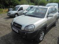 Hyundai Tucson 2.0 CRTD CDX (silver) 2008
