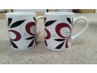 Mugs set of 2