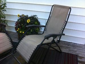 Infinity zero gravity Patio Chairs
