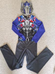 Boys Optimus Prime Costume (size : Small, 4-6)
