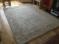 Hand made Indian rug.