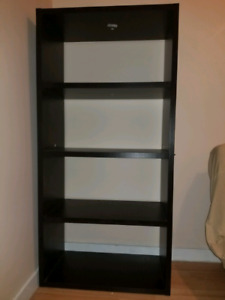 5 foot shelving unit excellent condition