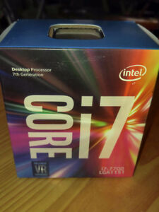 Intel Core i7-7700 CPU (NEW w/ cooler fan) for PC Computer Build