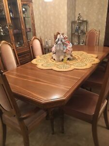 Complete traditional dining room set