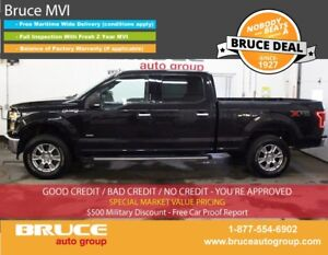 2015 Ford F-150 XTR 3.5L 6 CYL ECOBOOST AUTOMATIC 4X4 CREW CAB H