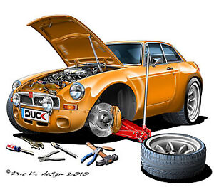 MGB GT..For parts