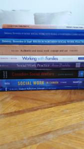 9 Social Work Textbooks from LU