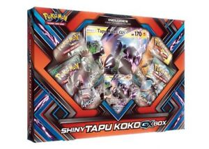 Pokemon Shiny Tapu Koko GX Box Now Available @ Breakaway