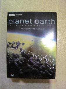 Planet Earth DVD series $12 in like new condition