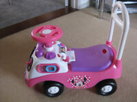 Disney My First Minnie Mouse Push Along Bike
