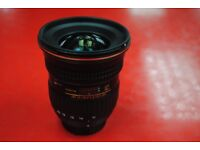 Tokina AT-X 11-20mm F/2.8 Pro DX Lens for Nikon £390