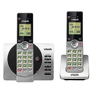 Vtech 2-Handset Cordless Phone with Digital Answering