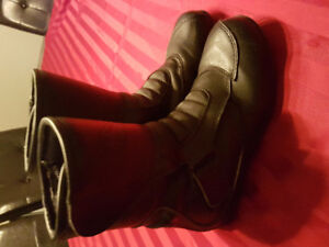 Women motorcycle boots 6