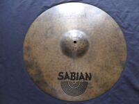 "Sabian Hand Hammered (HH) 20"" Raw Dry Ride"