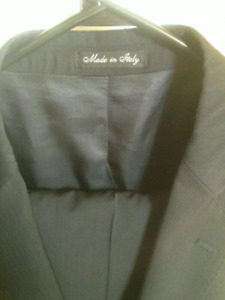 Made in Italy, double-breasted (STONEHOUSE) Fabric by Morzotto.
