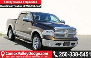 2013 RAM 1500 Laramie ONE OWNER, LOW KM, BLUETOOTH, NAV, BACK...