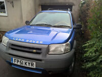 2001 Land Rover Freelander 1.8 ES 3 door, needs MOT, sell/px Trike, Mobility Scooter, why?