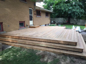 Decks!!!! Booking for next week and into September