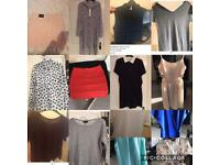 Woman's clothing bundle - size 10/12- 14 items !