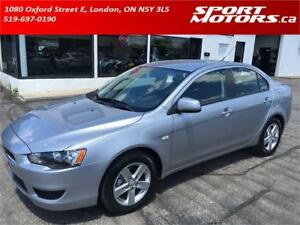 2008 Mitsubishi Lancer **ONLY 54 KMs** New Brakes! A/C!
