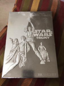 Various DVD Box Sets includes Star Wars trilogy