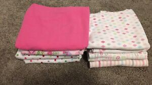8 baby receiving blankets