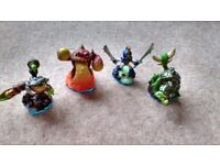 4X Swap force characters(not the swappables) All in Excellent condition. Can be used on ALL consoles