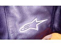 Alpinestars Leather Motorcycle Jacket