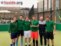 New teams wanted! 5-a-side Leagues in London Bridge