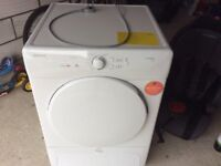 HOOVER Condenser Tumble Dryer Vision HD 8 kg,New only tried it twice.Excellent condition.