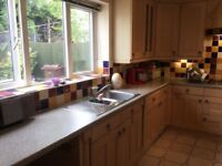 Kitchen Beech Effect + Appliances For Sale - Great Condition!