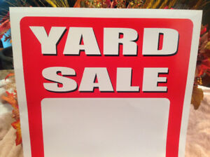 YARD SALE-SAT. JULY 22nd 160 THERIAULT ST, DIEPPE (7-11)