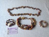 Mookite necklaces and bracelets from australia