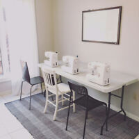 SEWING SOCIALS, LESSONS + WORKSHOPS with Yes, please! Sewing