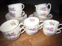 Royal Worcester Roanoke Tea Set