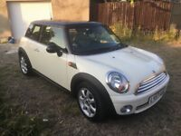 MINI COOPER AUTOMATIC 57 REG ONLY 3700 MILES IMMACULATE RARE LEATHER INTERIOR PANRAMIC SUN ROOF