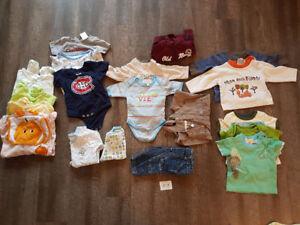 Vêtements pour garçon (0-3; 3 ;3-6)